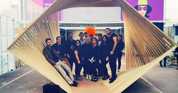 Students of EMU Interior Architecture Department Attended a Technical Trip in İstanbul