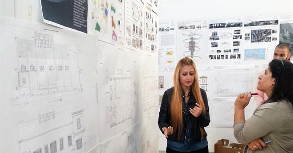 EMU Interior Architecture Department Graduation Project Receives Support from External Experts
