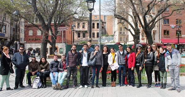 Students of EMU Interior Architecture Department Took Part in a Technical Trip in İstanbul